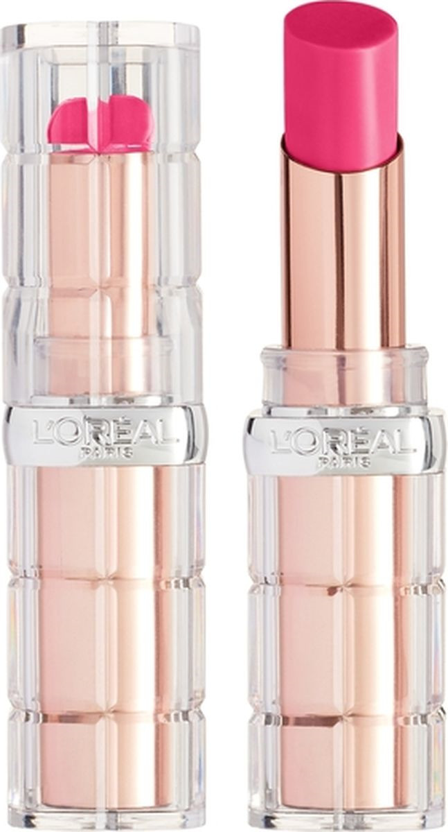 Губная помада L'Oreal Paris Color Riche Plump and Shine, визуально увеличивающая объем, оттенок 106, розовый, 3,8 мл