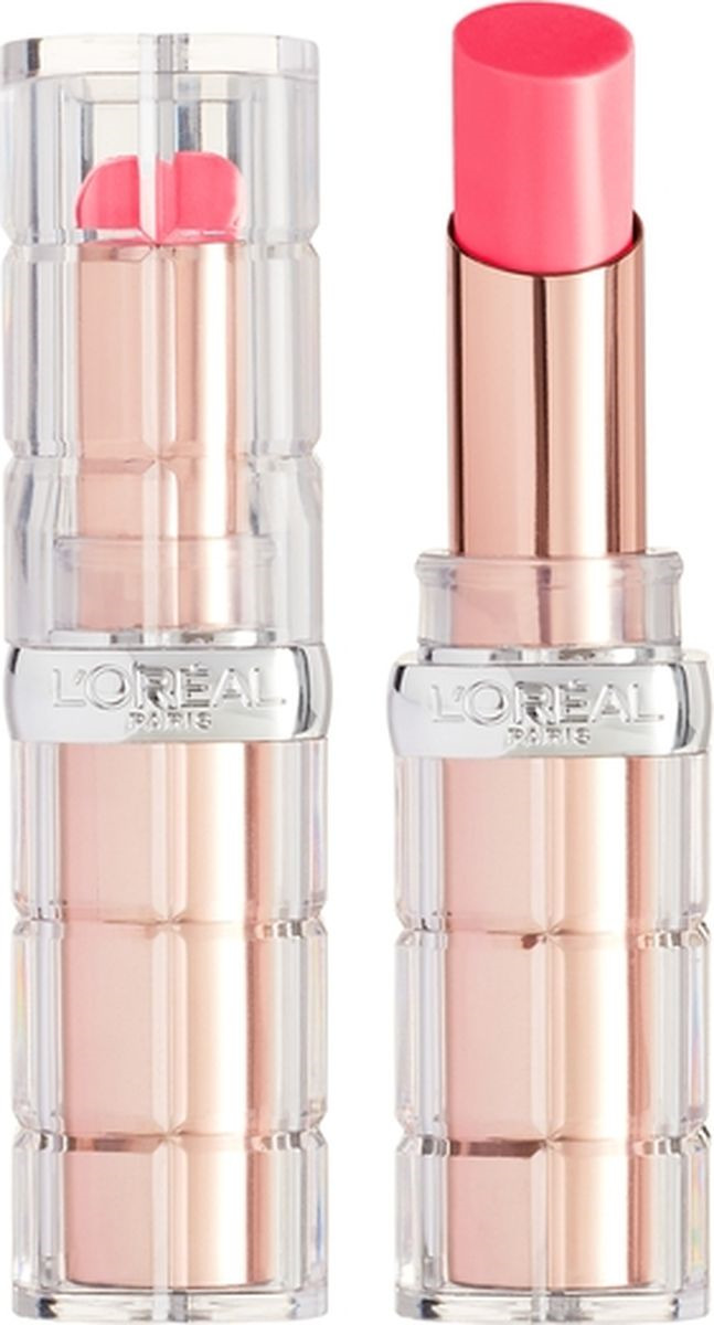 Губная помада L'Oreal Paris Color Riche Plump and Shine, визуально увеличивающая объем, оттенок 104, розовый, 3,8 мл