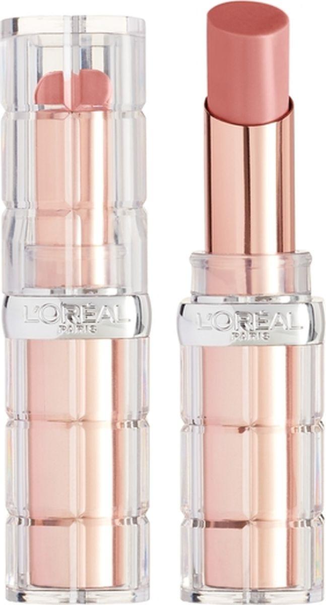 Губная помада L'Oreal Paris Color Riche Plump and Shine, визуально увеличивающая объем, оттенок 107, розовый, 3,8 мл