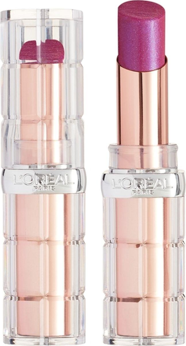 Губная помада L'Oreal Paris Color Riche Plump and Shine, визуально увеличивающая объем, оттенок 105, розовый, 3,8 мл