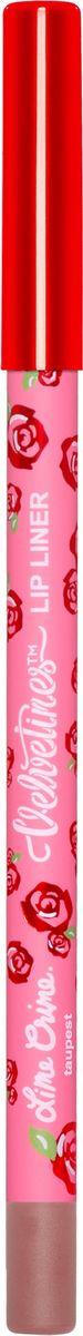 Карандаш для губ Lime Crime Velvetines, Taupest, 1,2 г lime crime lipstick velvetines jinx помада жидкая матовая 23 гр