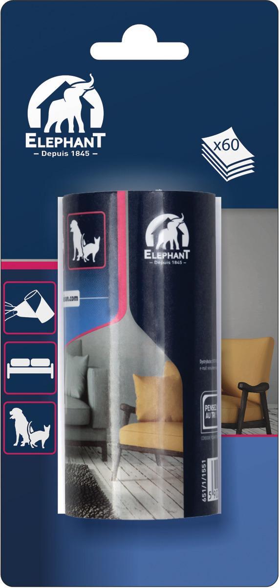 Сменная насадка Elephant, 415933, 60 листов щетки для кухни