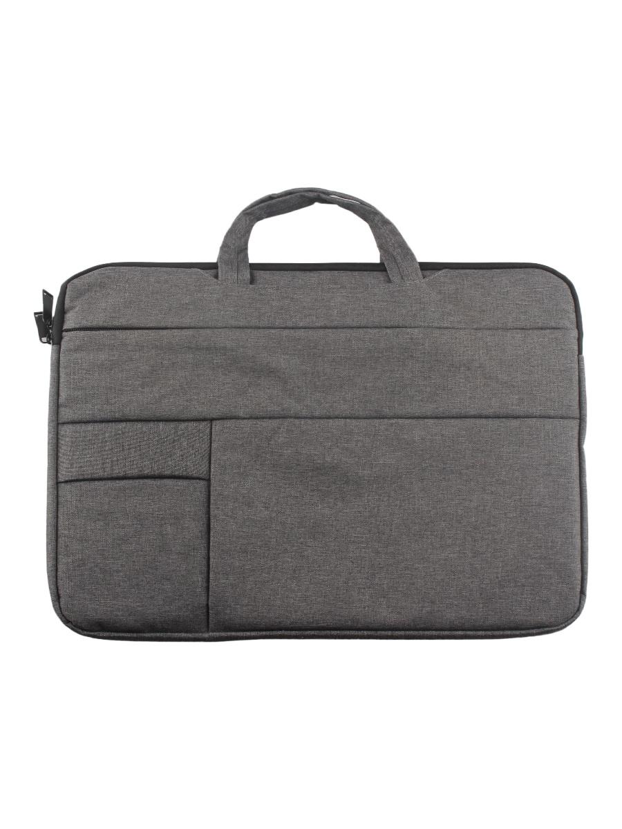 Сумка для ноутбука L.A.G. LYK-302, темно-серый сумка incase reform collection для ноутбуков размером до 13 темно серый