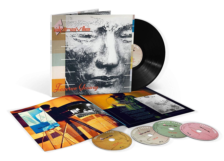 Alphaville Alphaville. Forever Young (LP + 3 CD + DVD) гардемарины 3 dvd