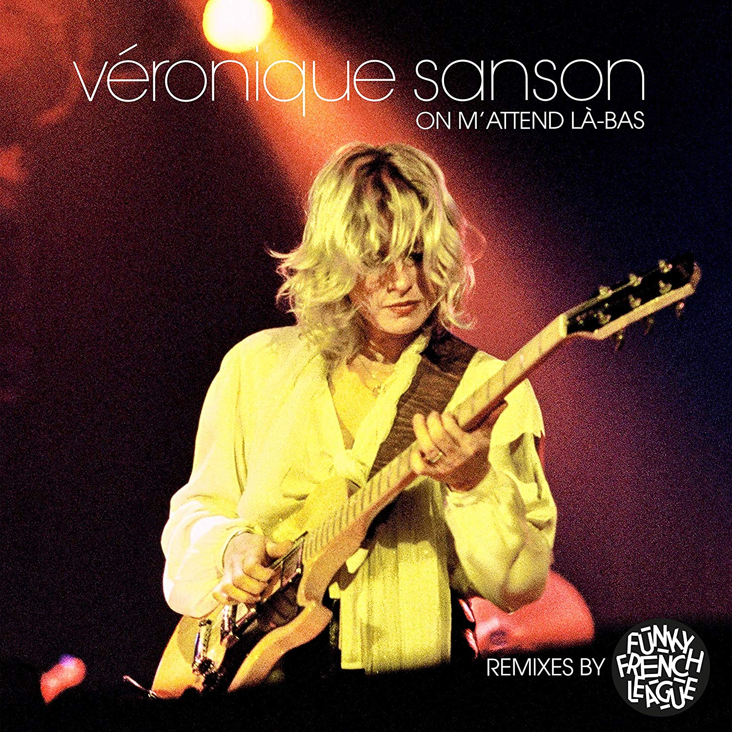 Veronique Sanson. On M'Attend La-Bas (Remix By Funky French League) (LP) veronique mazet french grammar for dummies