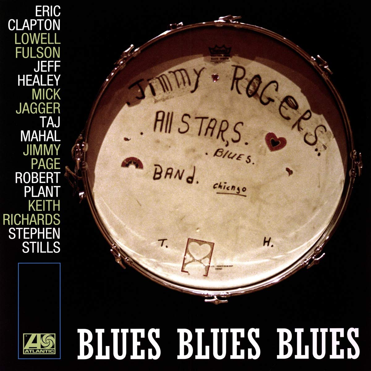 The Jimmy Rogers All Stars. Blues Blues Blues (2 LP) валтер трут walter trout blues for the modern daze 2 lp