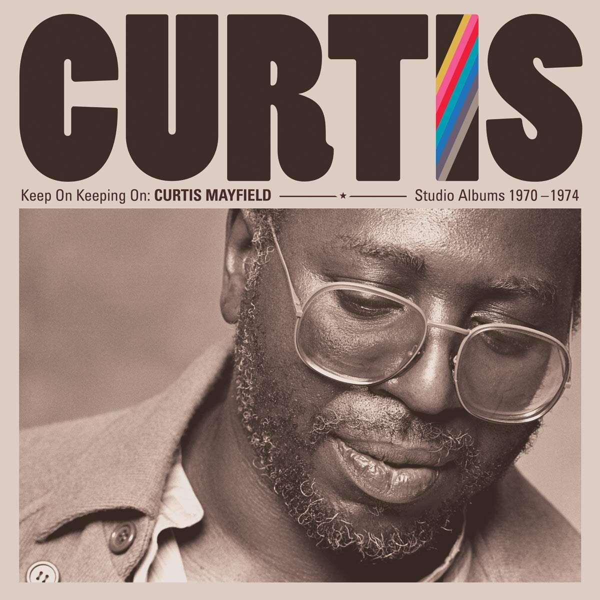 Curtis Mayfield. Keep On Keeping On. Curtis Mayfield Studio Albums 1970-1974 (4 LP) abba the studio albums 8 lp