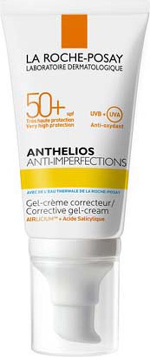 Гель La Roche-Posay Anthelios, для жирной, проблемной и склонной к акне кожи, SPF 50+, 50 мл anthelios xl 50