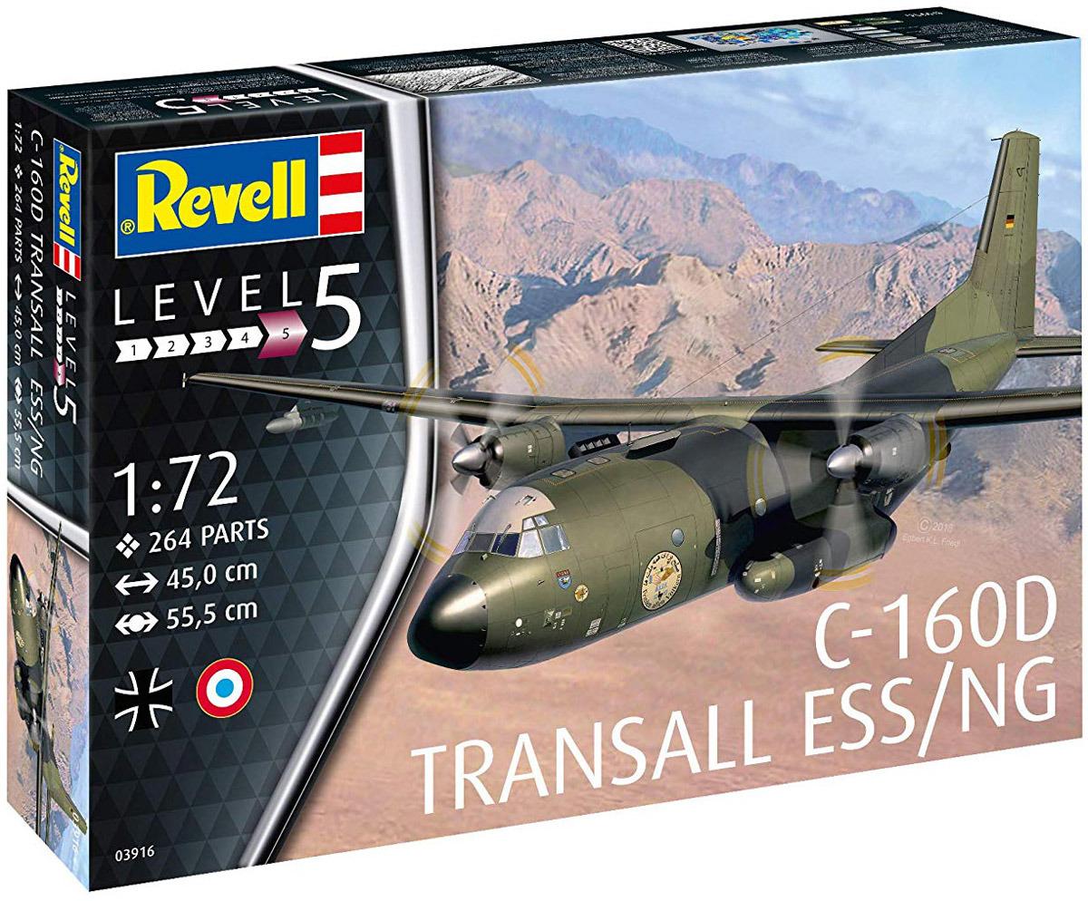 Сборная модель Revell Военно-транспортный самолет Transall ELOKA, 03916R