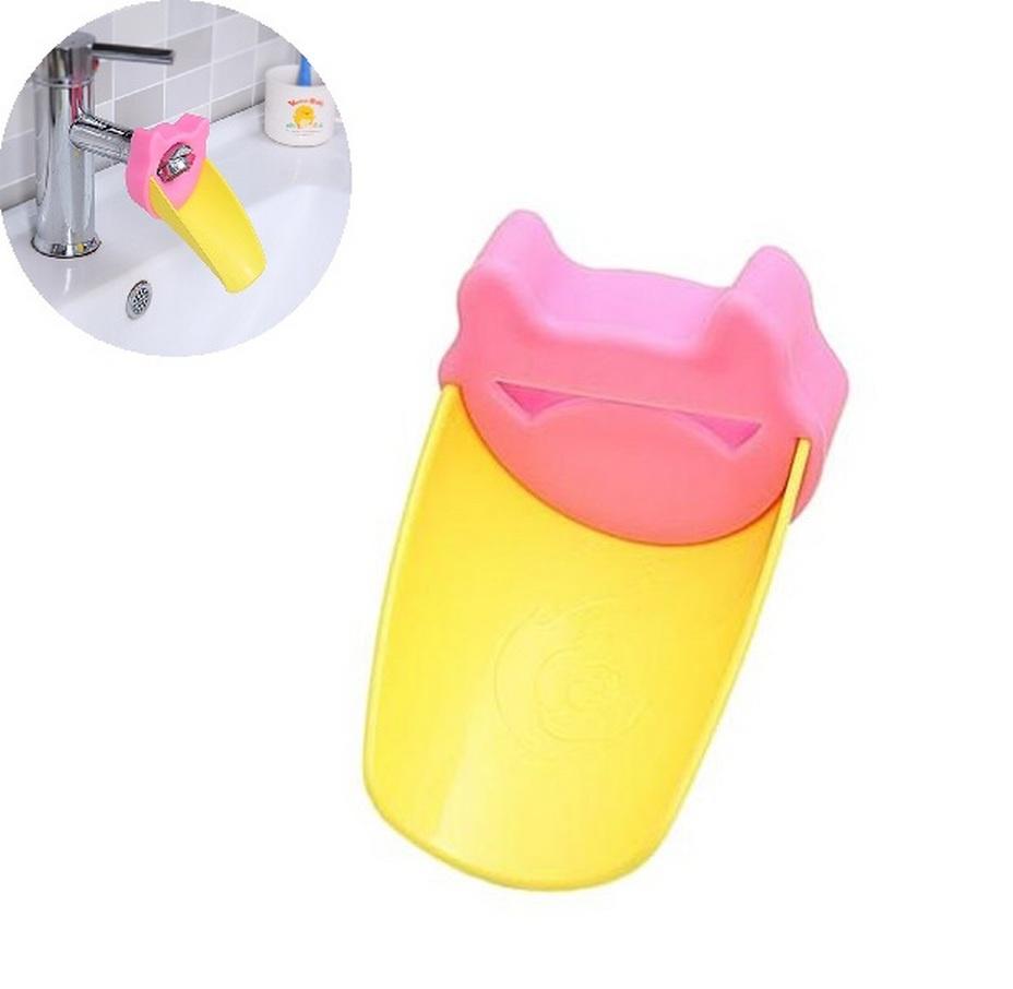 Аэратор для смесителя Fidget Go Клюв, насадка на кран (детская), желтый, розовый насадка для крана мультидом утенок vl34 43