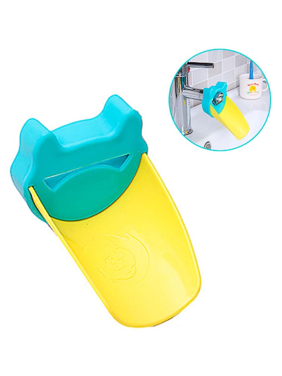 Аэратор для смесителя Fidget Go Клюв, насадка на кран (детская), голубой насадка для крана мультидом утенок vl34 43