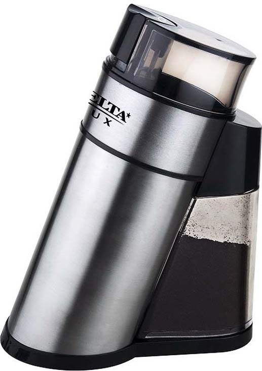 Кофемолка Delta Lux DL-086К, серебристый