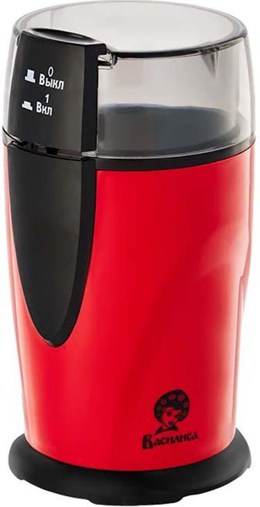 Кофемолка Василиса ВА-400, черный, красный