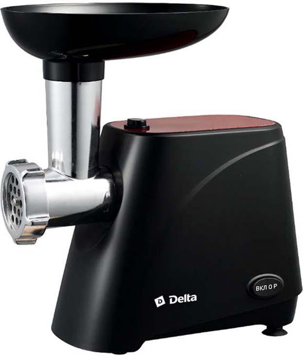 Мясорубка электрическая Delta DL-6100М, черный, красный