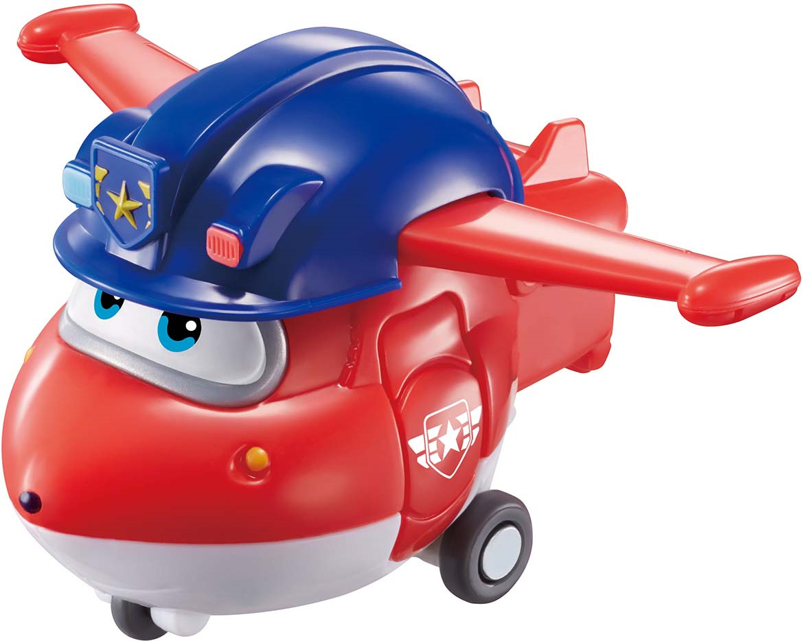 Мини-трансформер Super Wings Джетт команда Полиции