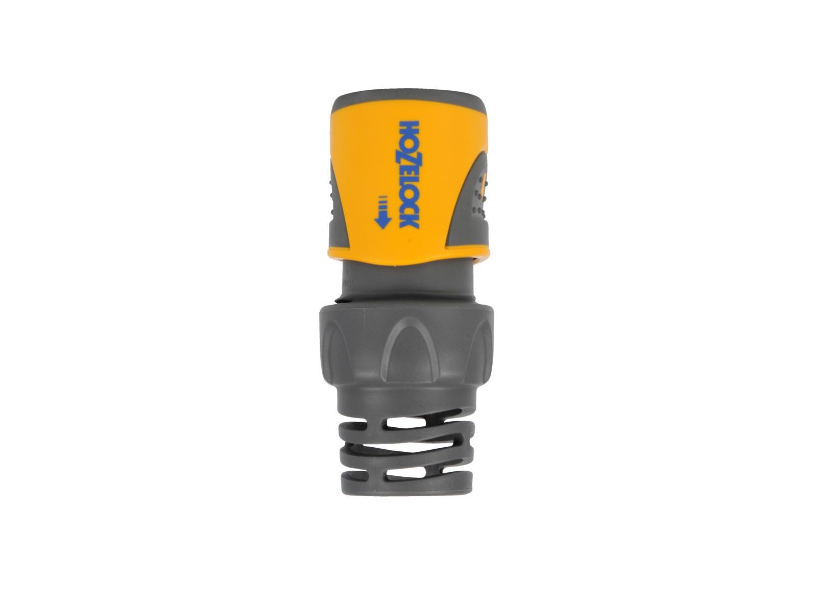 """Коннектор шланга Hozelock """"Plus"""" 2060 для концов шланга, 3/4"""", желтый, серый"""
