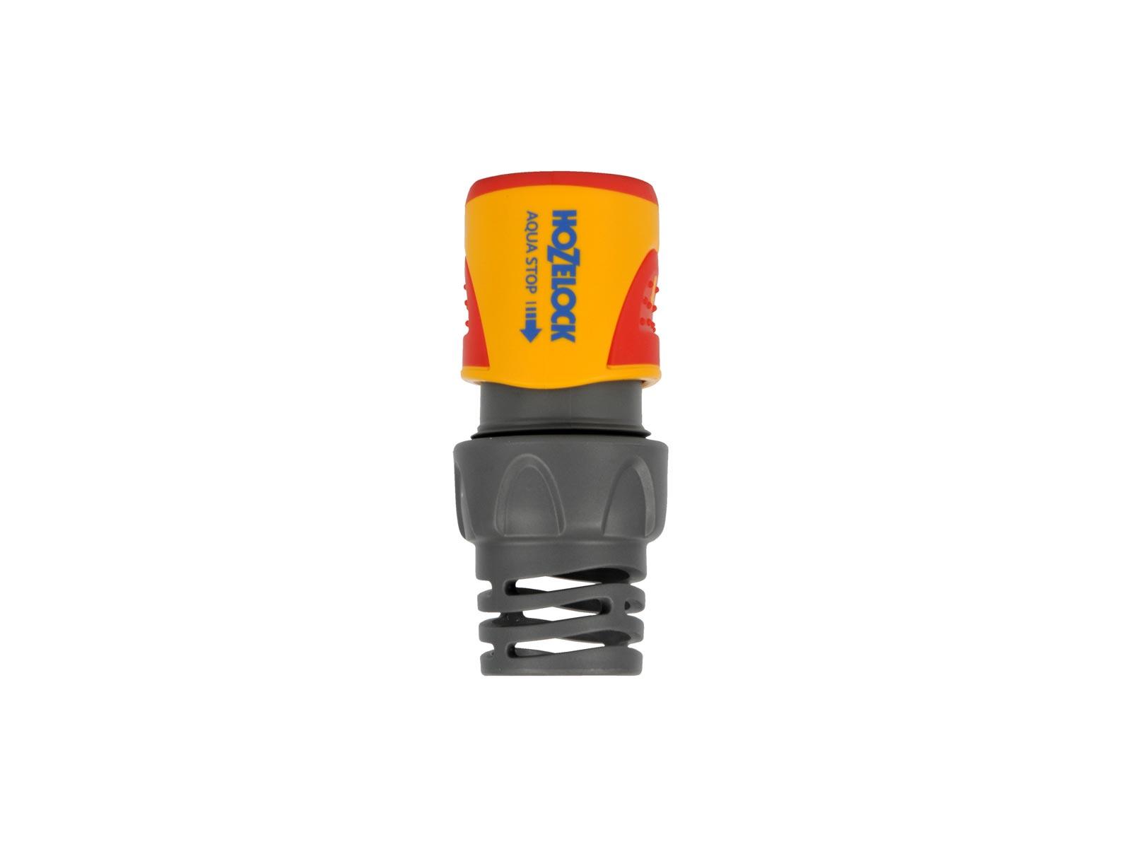 """Коннектор шланга Hozelock """"Plus"""" 2065 Аквастоп для концов шланга, 3/4"""", желтый, серый, красный"""