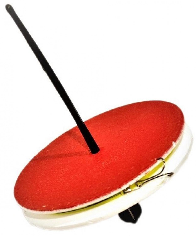 Кружок рыболовный AGP УТ000024866, красный, белый, зеленый поплавок agp agp p1 белый черный красный оранжевый 1