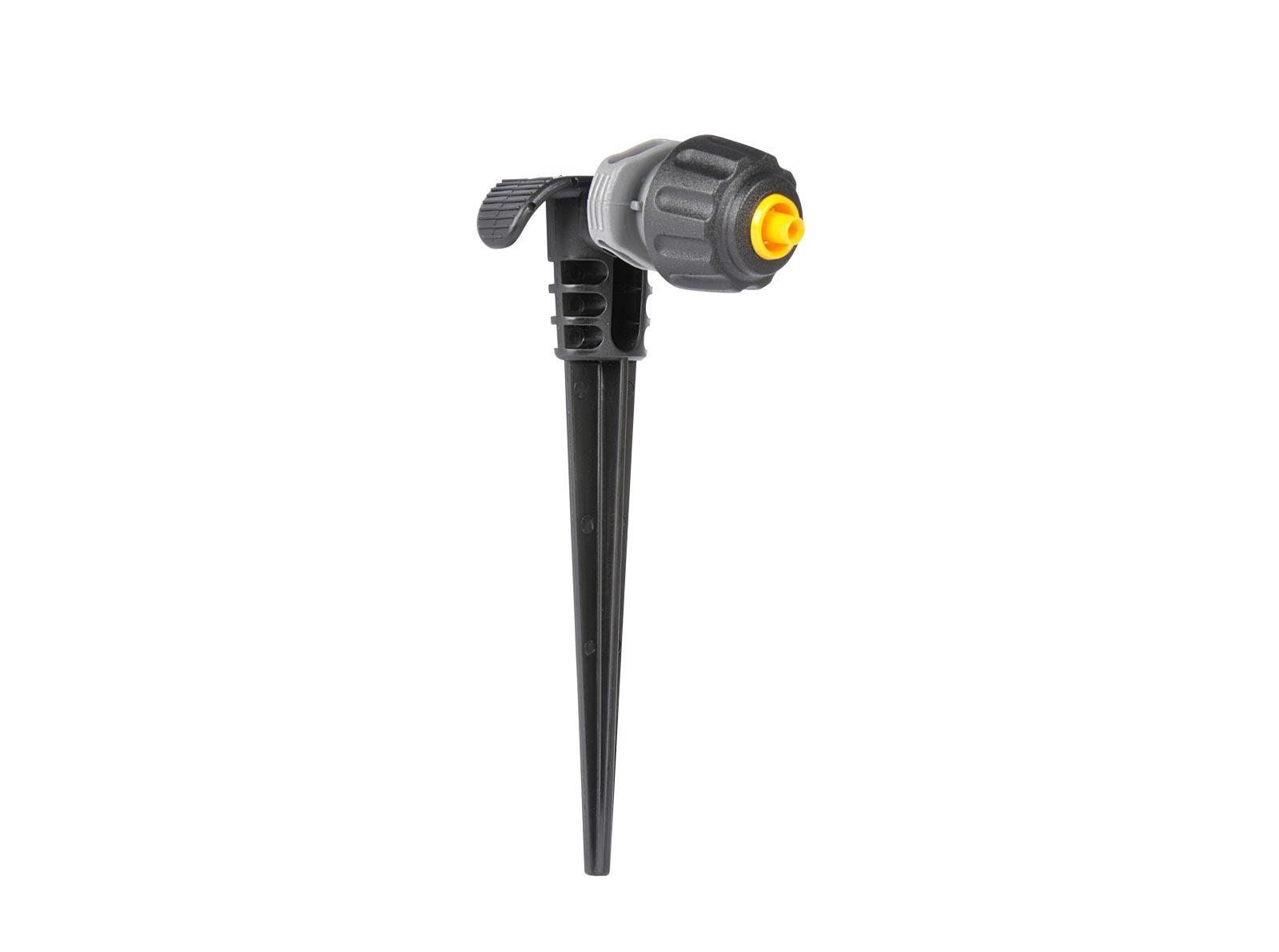 """Система полива Hozelock """"Easy Drip"""" 7012 микро капельница универсальная для автополива с микроразбрызгивателями, 4 мм, 5 шт., черный, серый, желтый"""