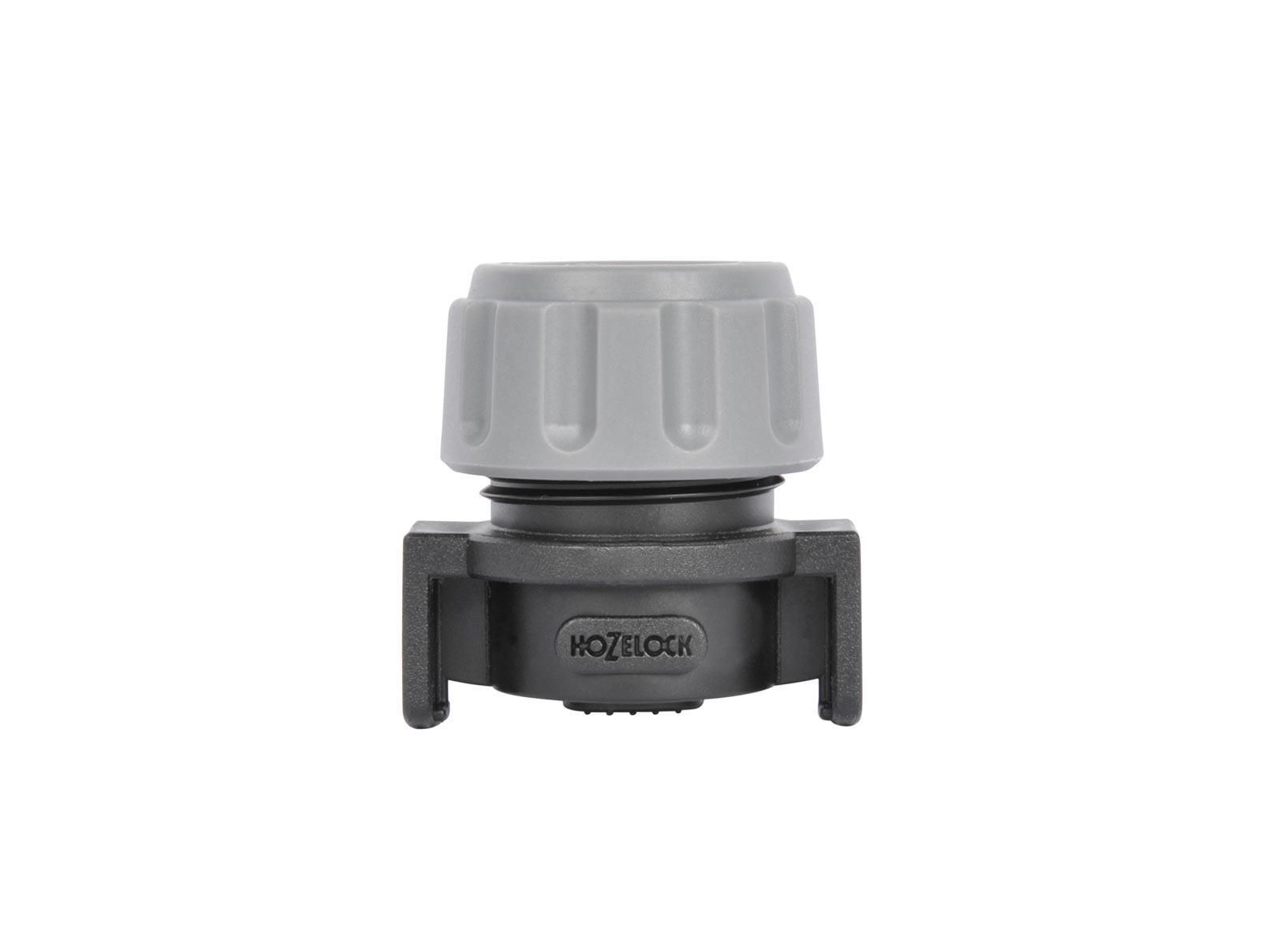 "Система полива Hozelock ""Easy Drip"" 7016 заглушка концевая для автополива, 13 мм, 2 шт., черный, серый"