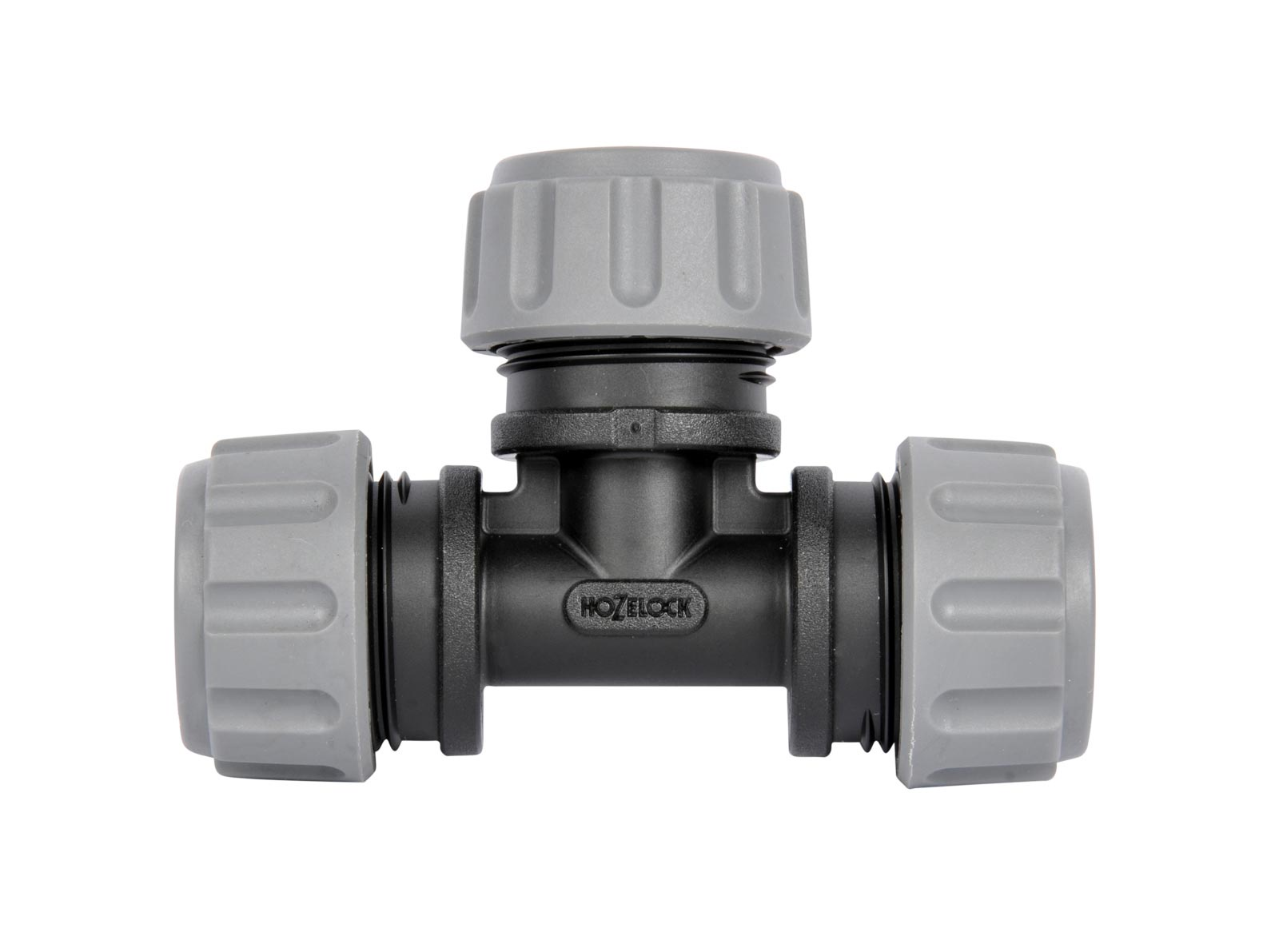 """Система полива Hozelock """"Easy Drip"""" 7018 коннектор Т-образный для автополива, 13 мм, 2 шт., черный, серый"""