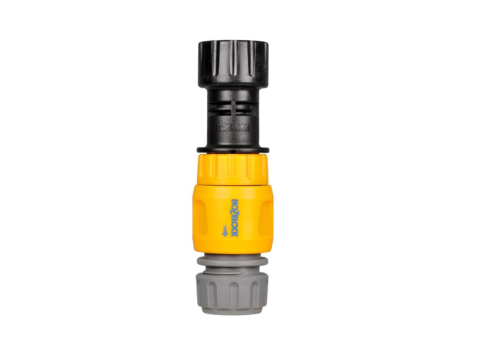 """Система полива Hozelock """"Easy Drip"""" 7022 регулятор давления для автополива, 4 мм и 13 мм, черный, серый, желтый"""