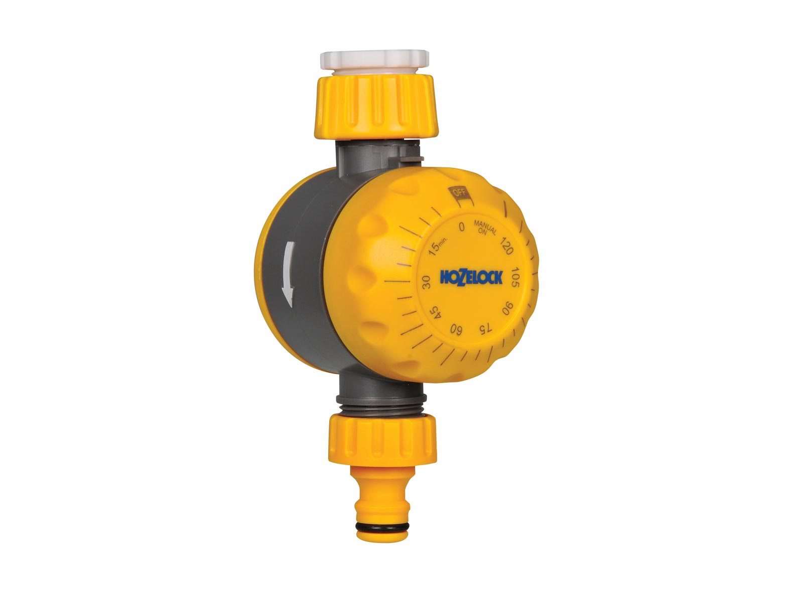 Система полива Hozelock 2210 таймер полива механический, желтый, серый, белый