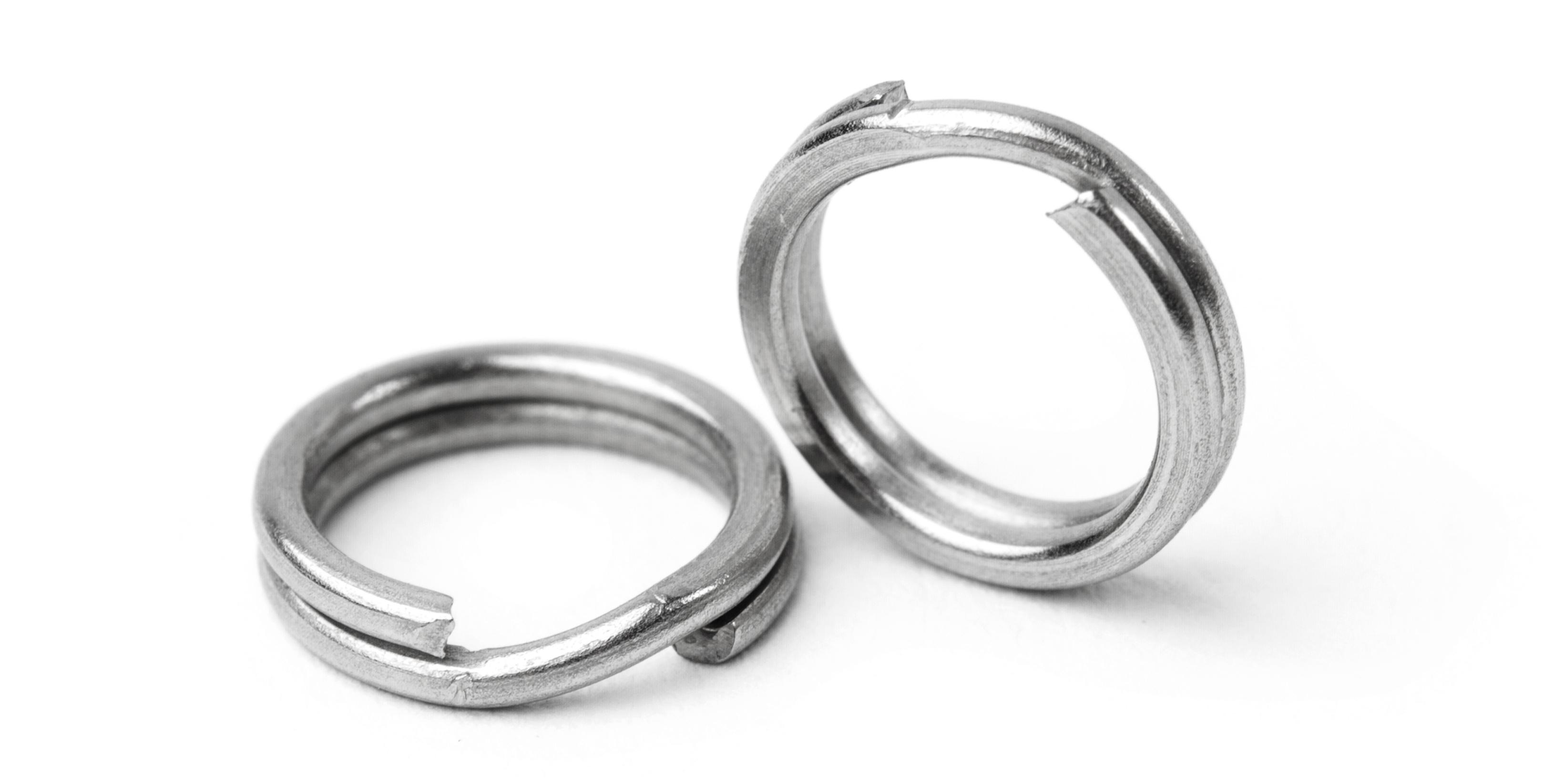 Оснастка рыболовная AGP заводные кольца, серый