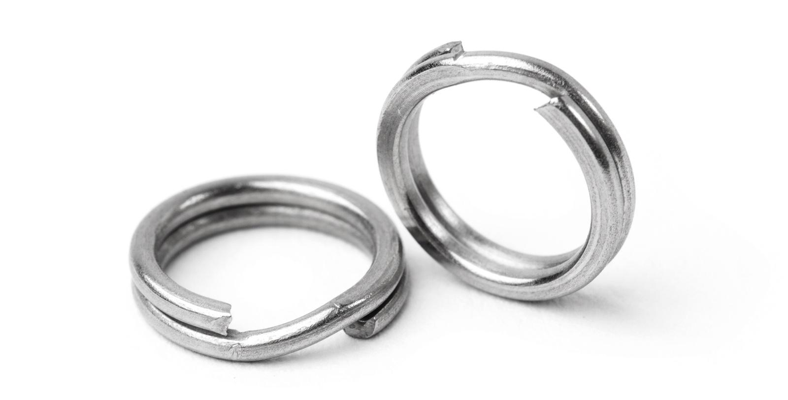Оснастка рыболовная AGP заводные кольца, серый, темно-серый, серебристый