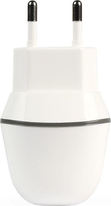 цена на Сетевое зарядное устройство Smartbuy Nova MkiiI SBP-1005-8 + кабель Lightning, 2.1A, белый