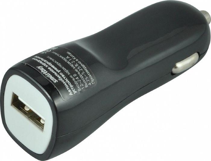 Автомобильно зарядное устройство Smartbuy Nitro SBP-1502-8-V + витой кабель Lightning, 1A, белый smartbuy ka321 70 3 5 jack кабель