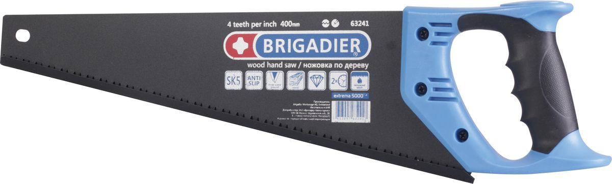 Ножовка по дереву Brigadier Extrema, 400 мм ножовка по дереву brigadier lite