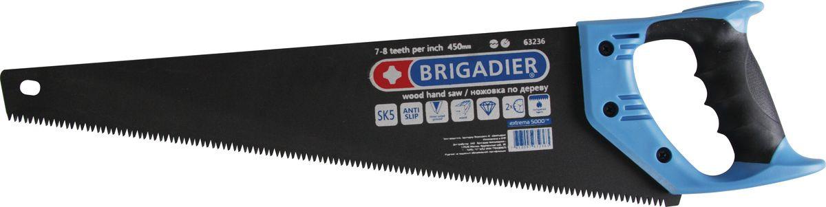 Ножовка по дереву Brigadier Extrema, 450 мм ножовка по дереву brigadier lite