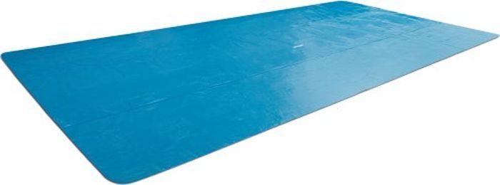 Тент от солнца для бассейна Intex, прямоугольный, с сумкой, с29029, голубой, 476 х 234 см тент от солнца для бассейна intex прямоугольный с сумкой с29030 голубой 960 х 466 см
