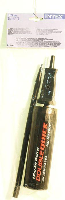 Насос ручной для бассейна Intex, с69613, черный, 29 см