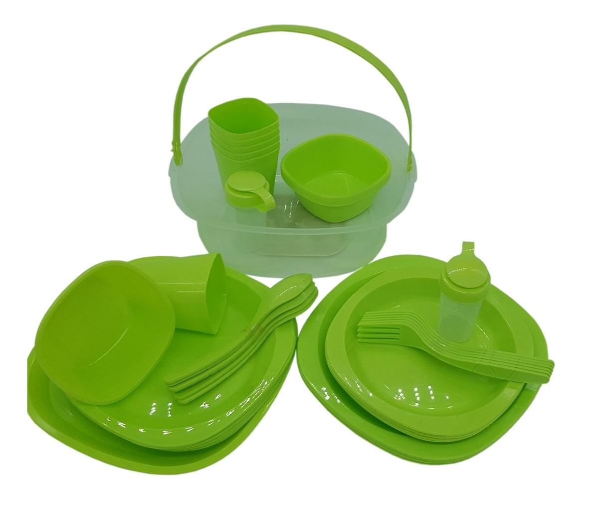 Набор для пикника Зигуля 10515, зеленый