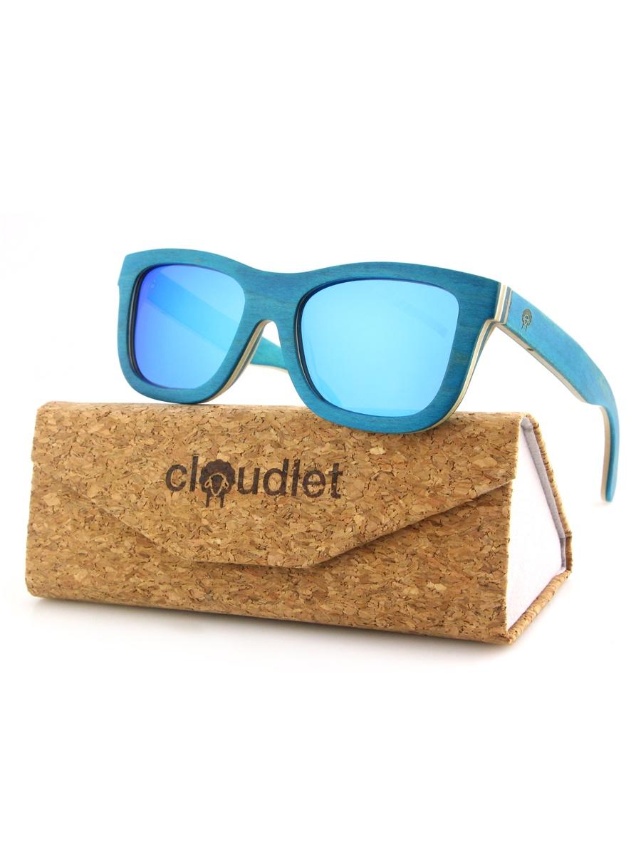 Фото - Очки солнцезащитные Cloudlet ESWD301#13Синий, синий линзы