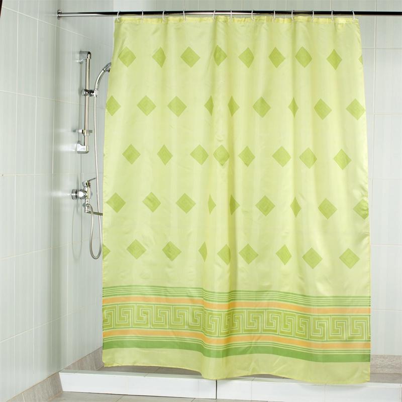 <b>Штора для ванной Aquarius</b> 48659, зеленый — купить в интернет ...