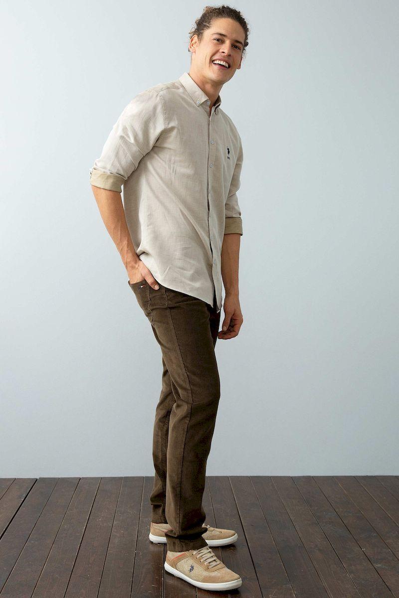 Брюки U.S. Polo Assn. брюки мужские u s polo assn цвет серый g081sz0780kenn8k vr006 размер 30 46