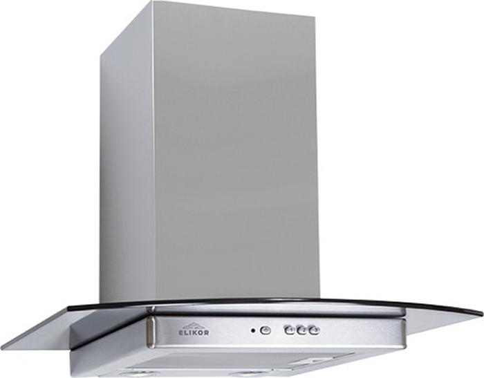 Встраиваемая вытяжка Elikor Кристалл 50Н-430-К3Д, серебристый