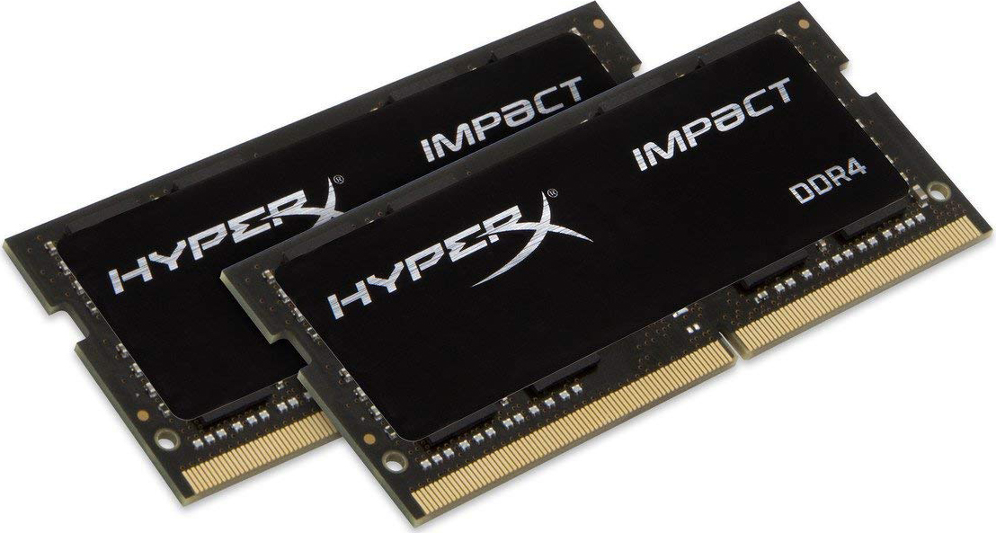 Модуль оперативной памяти HyperX Impact DDR4 SODIMM, HX432S20IBK2/32, черный