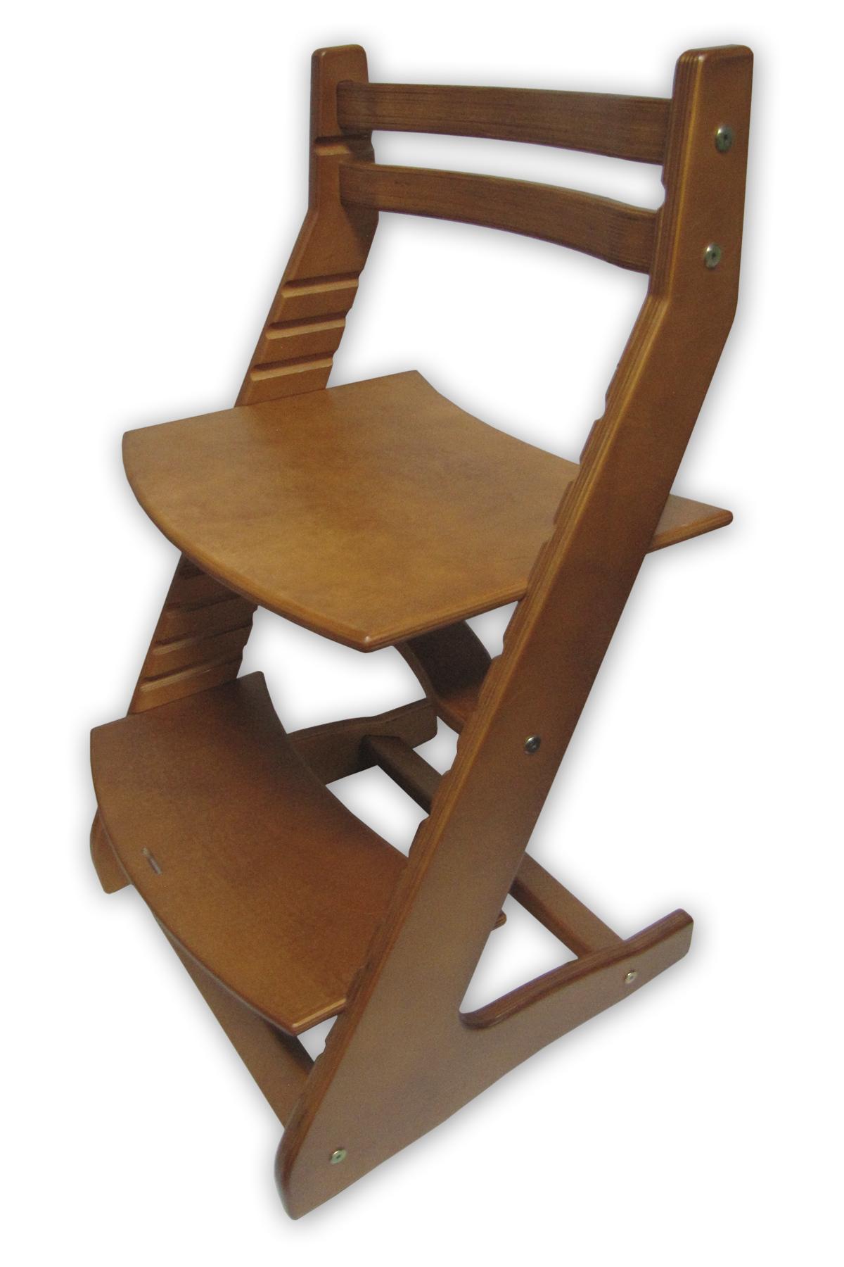 Детский стул Вырастайка Вырастайка-2, коричнево-красный