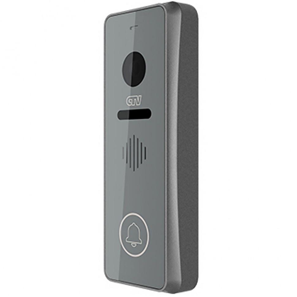Вызывная панель CTV для видеодомофонов CTV-D3001-серебро, светло-серый цена