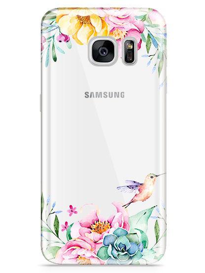 Чехол для сотового телефона UVOO Art design для Samsung Galaxy S7, прозрачный