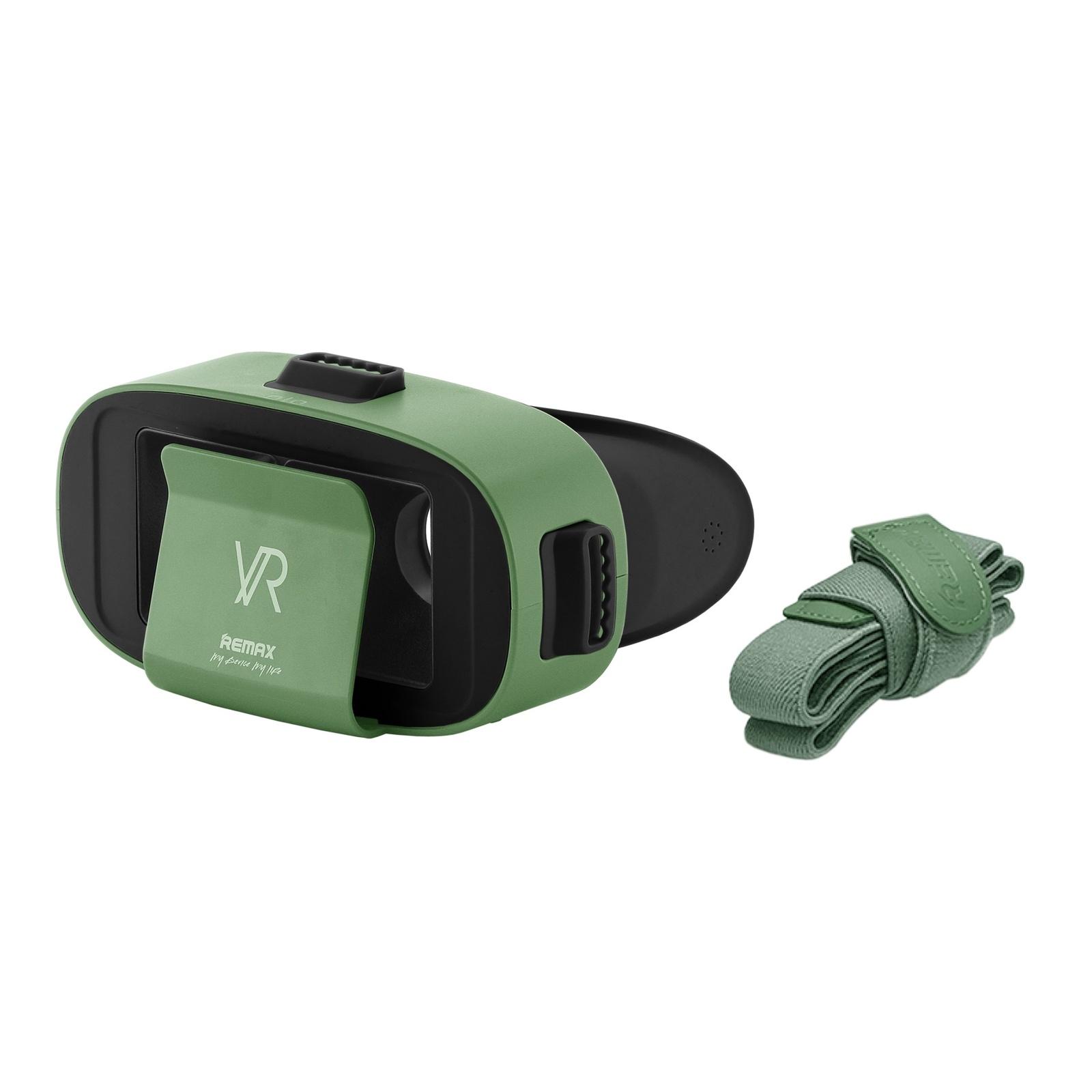 Очки виртуальной реальноcти для смартфонов REMAX RT-V04, зеленый