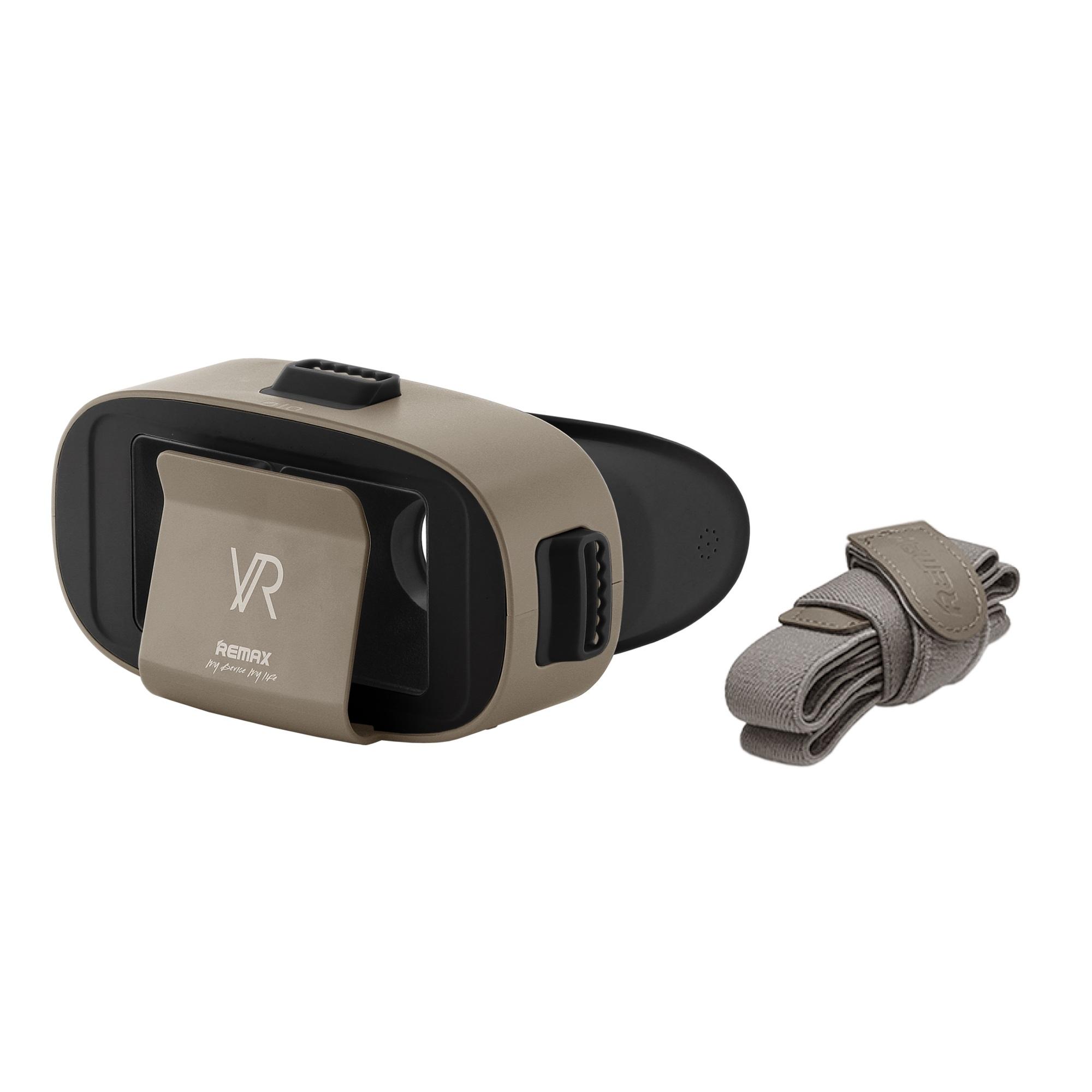 Очки виртуальной реальноcти для смартфонов REMAX RT-V04, коричневый