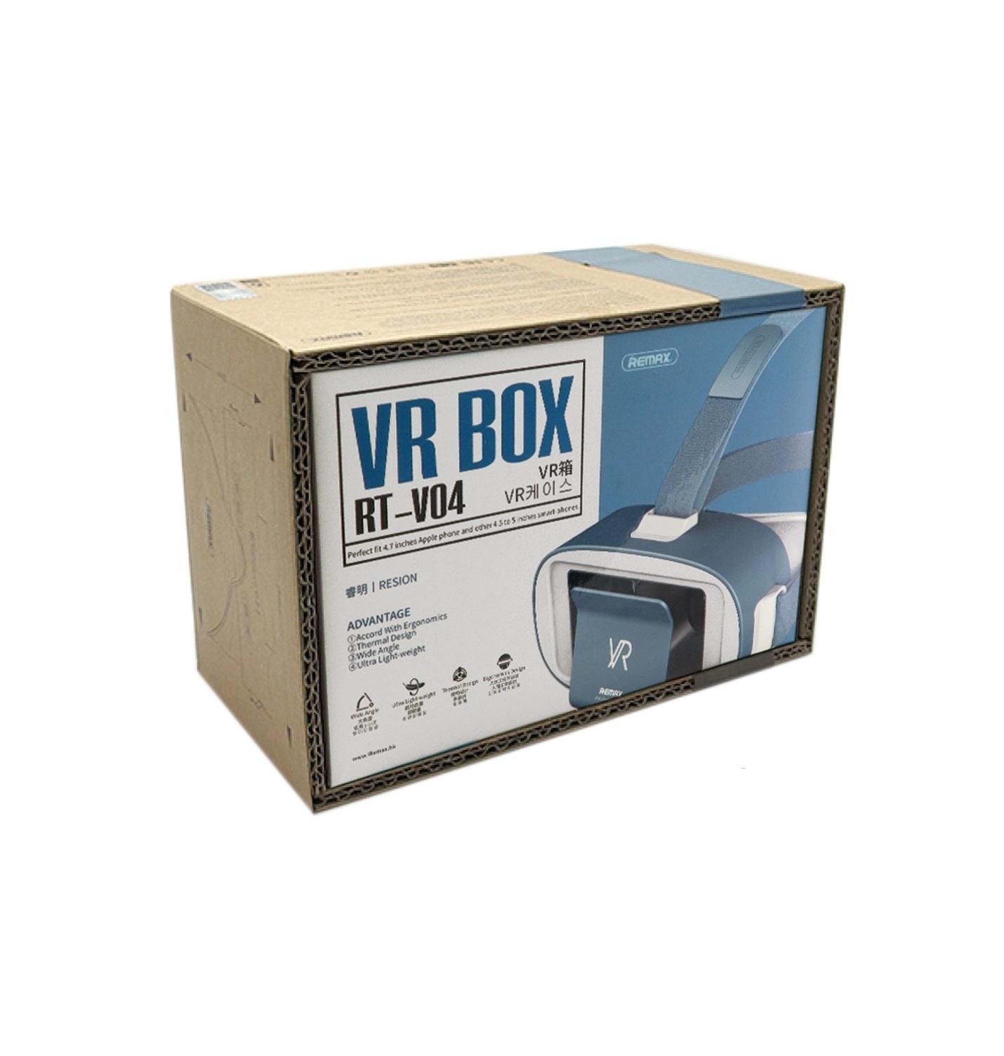 Очки виртуальной реальноcти для смартфонов REMAX RT-V04, синий