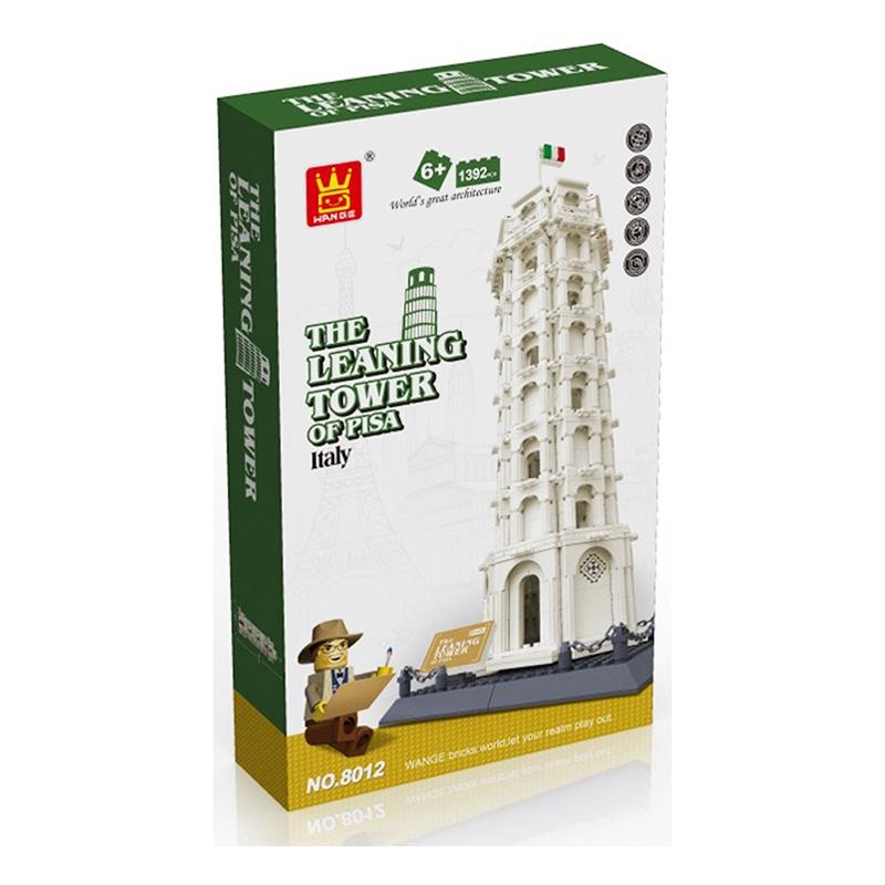 Пластиковый конструктор Wange Шедевры мировой архитектуры. Пизанская башня шедевры мировой архитектуры