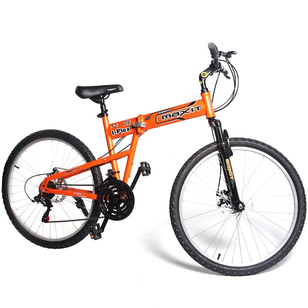 Горный (MTB) MAXIT I-FLEX Folding MTB, оранжевый