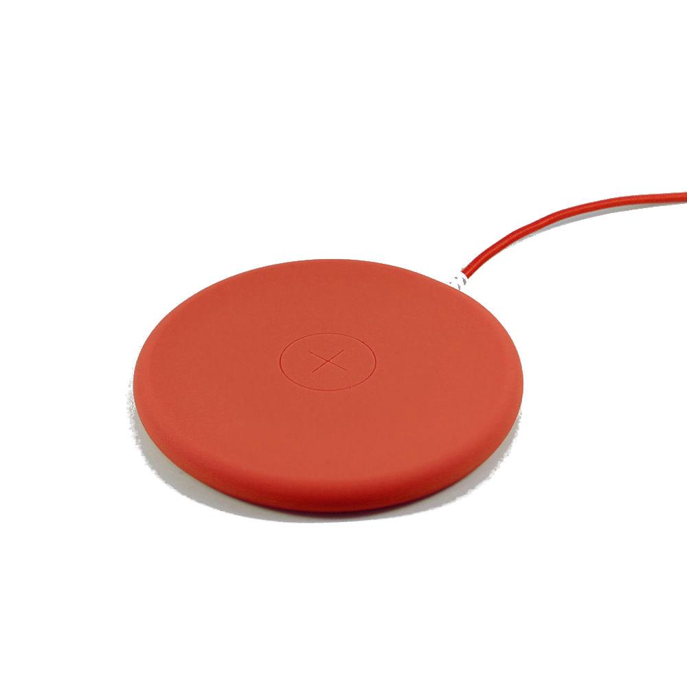 Беспроводное зарядное устройство Philo Wireless Charging Pad, оранжевый зарядное устройство red line qi 04 black для apple iphone 8 8 plus